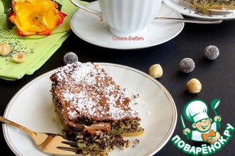 Рецепт: Маковый пирог Турта де папаверо