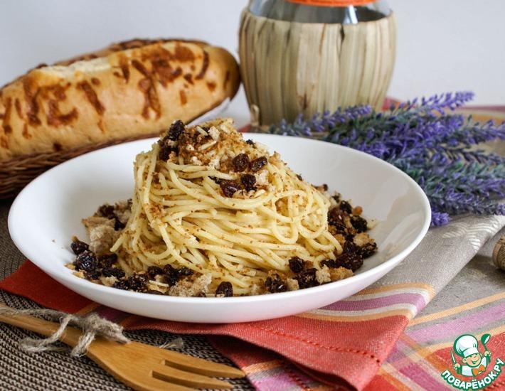 Рецепт: Спагетти Сан-Джузеппе