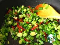 Рис с овощами ингредиенты