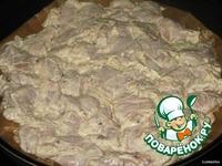 Курица под шубой в горчичном маринаде ингредиенты