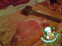 Шницель по-милански с картофелем и зеленью ингредиенты