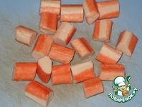 Сырные пончики с крабовыми палочками ингредиенты