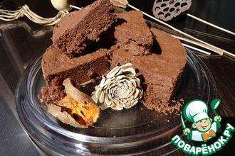 Рецепт: Шоколадный кейк с оливковым маслом