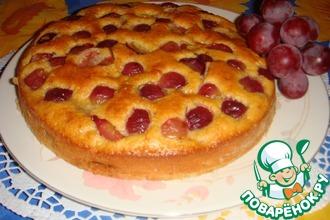 Рецепт: Итальянский пирог с виноградом