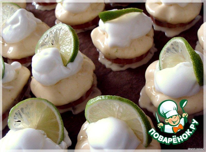 Пирожное Лимонное облачко
