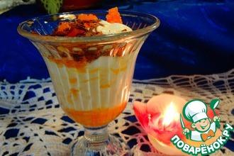 Рецепт: Апельсиновый десерт по-итальянски