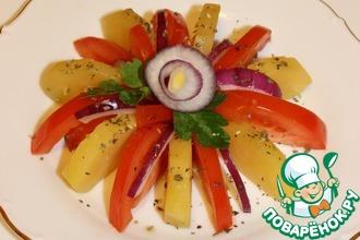 Рецепт: Калабрийский салат