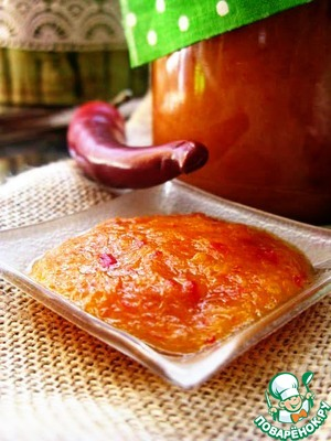 Рецепт Острый апельсиновый мармелад