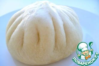 Рецепт: Паровые булочки с мясной начинкой Никуман