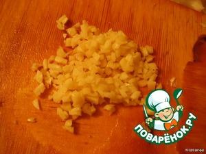 And garlic crushed