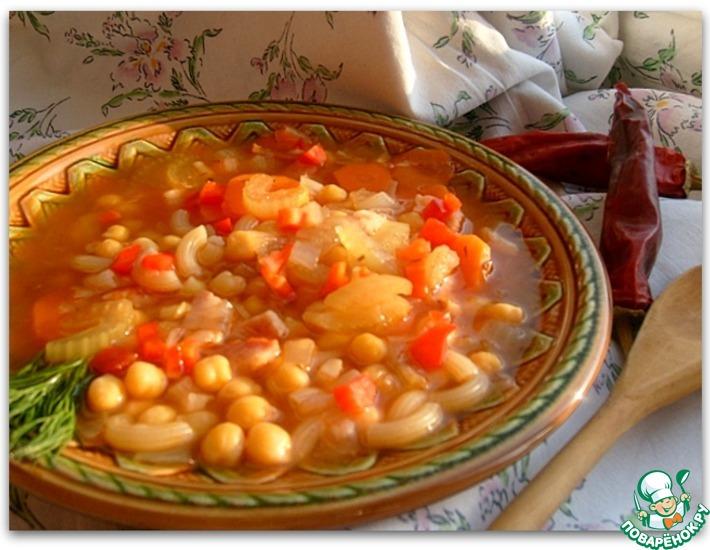 Рецепт: Римский суп