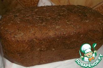Рецепт: Бородинский хлеб