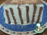 Торт творожный Зебра ингредиенты