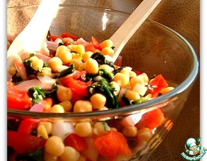 Рецепт: Этнический салат