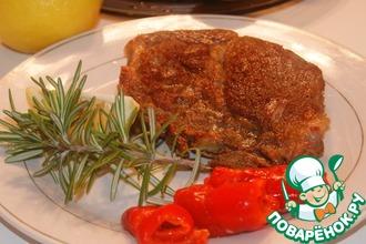 Рецепт: Ароматный свиной стейк