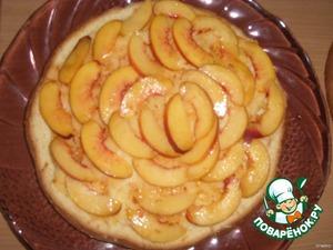 Торт персиковый – кулинарный рецепт
