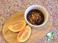 Горячий шоколад с апельсином ингредиенты