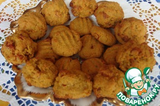 Рецепт: Постное медово-апельсиновое печенье