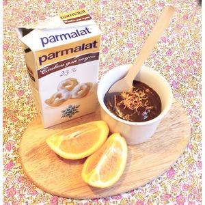 Горячий шоколад с апельсином