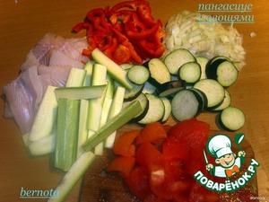 Пангасиус с овощами – кулинарный рецепт