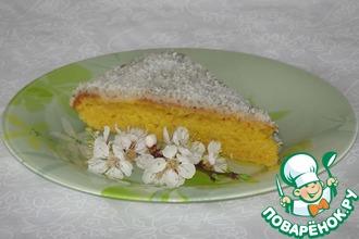 Рецепт: Торт постный Весенний