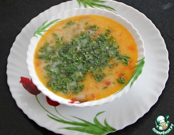 Рецепт: Суп из баранины с йогуртом