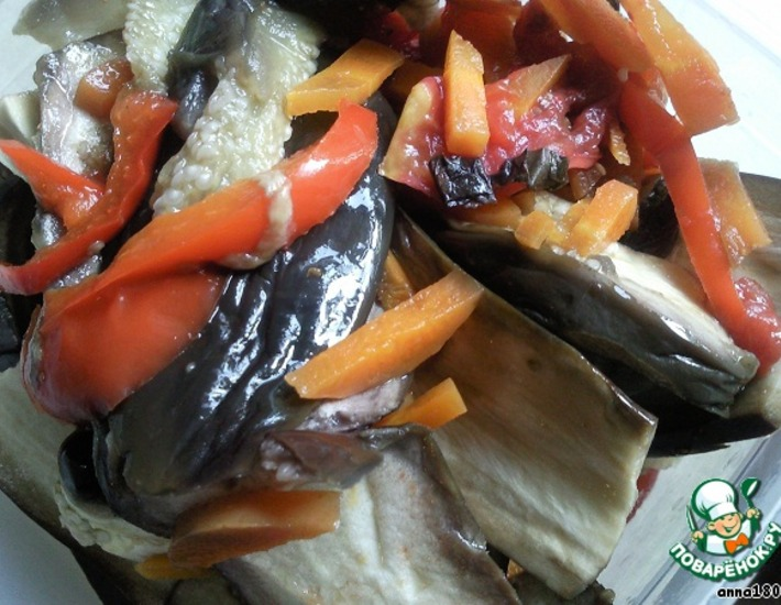 Рецепт: Запеченные баклажаны