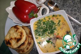 Рецепт: Итальянский сливочный суп