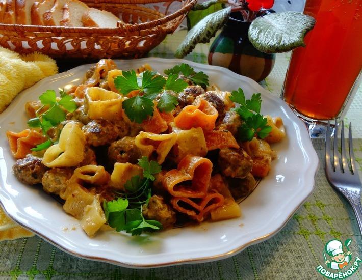 Рецепт: Итальянские мини-котлетки