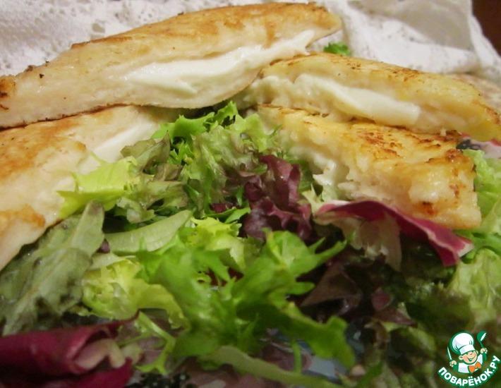 Рецепт: Сэндвичи Моцарелла ин кароцца