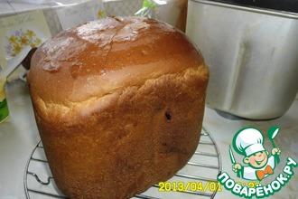 Рецепт: Хлеб в хлебопечке