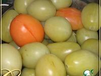 Зеленые фаршированные помидоры ингредиенты