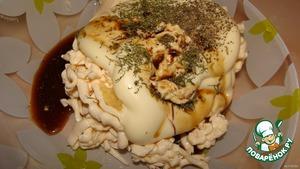 """Паста """"Закусочная"""" – кулинарный рецепт"""