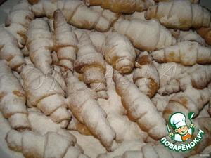 Пивные рогалики – кулинарный рецепт