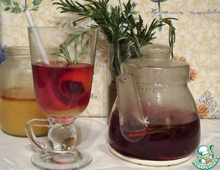 Рецепт: Чай с розмарином для Тютюши
