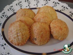 Яблочные пирожки из сырного теста – кулинарный рецепт