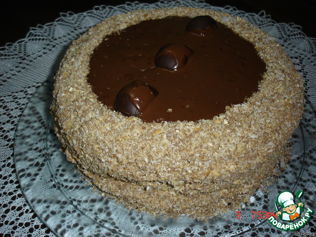 Торт Татьянин день