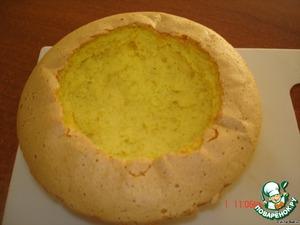 """Торт """"Малиновый"""" – кулинарный рецепт"""