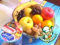 Фруктово-витаминный салат ингредиенты