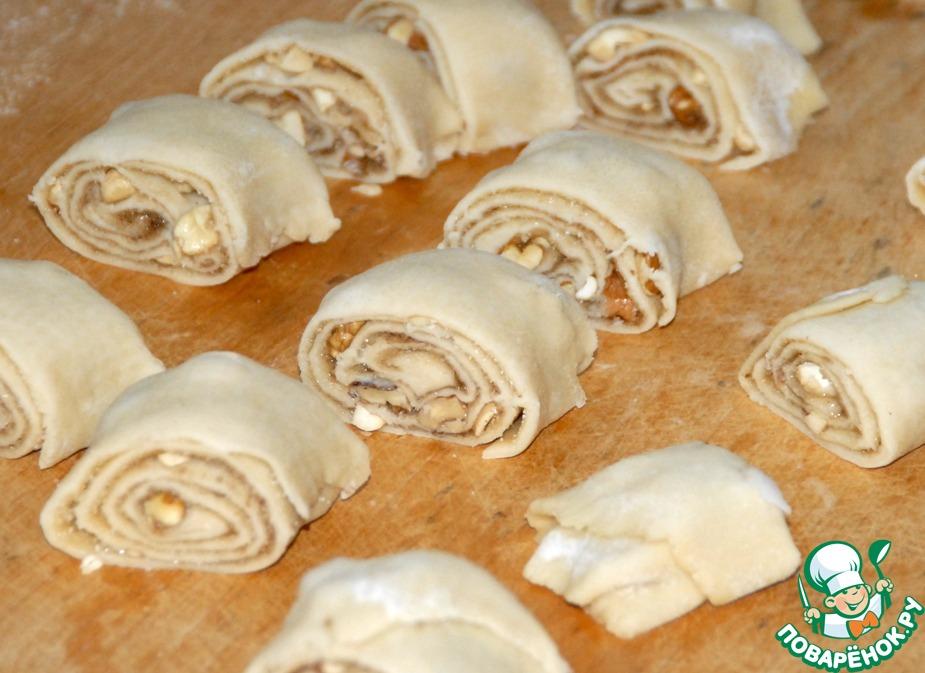 Восточное печенье из вытяжного теста