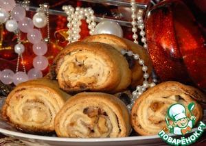 Рецепт Восточное печенье из вытяжного теста