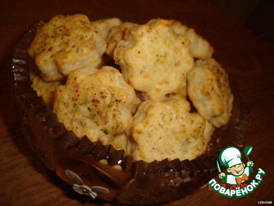 Печенье из брынзы