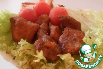 Рецепт: Жаркое из свинины в китайском стиле