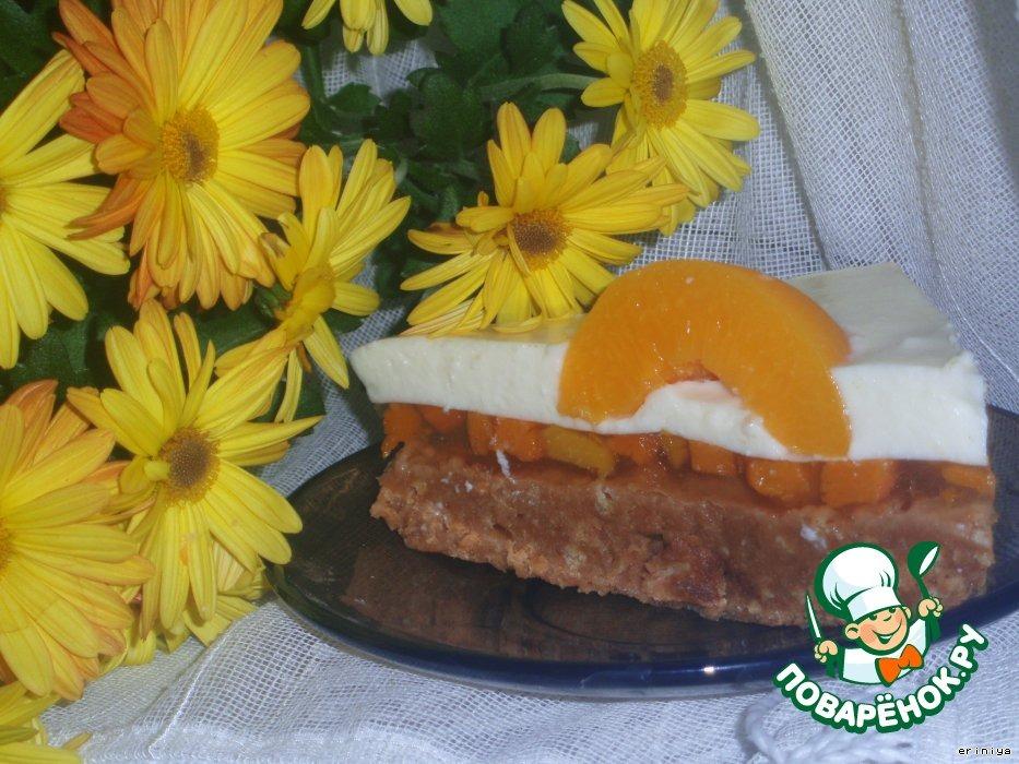 """Торт """"Яичница-глазунья"""""""