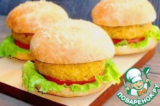 Рецепт: Постные гамбургеры