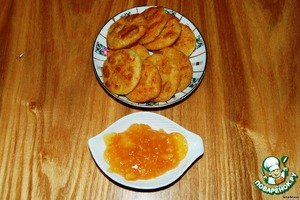 You can serve it with anything - with condensed milk, cheese, I have with Apple-orange jam.   Good luck!