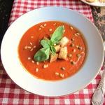 Томатный суп Панцанелла