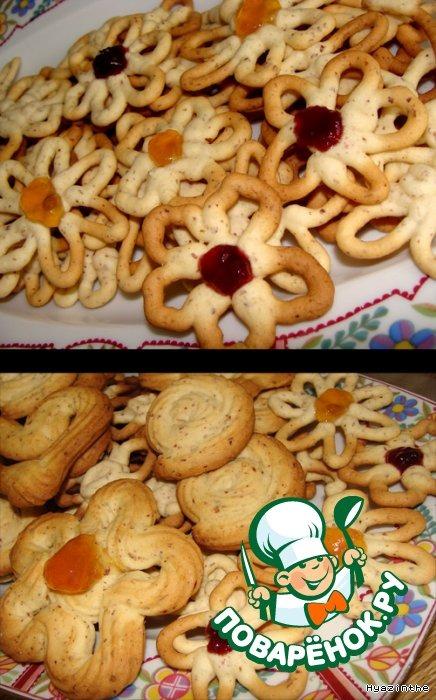 Печенье Цветы
