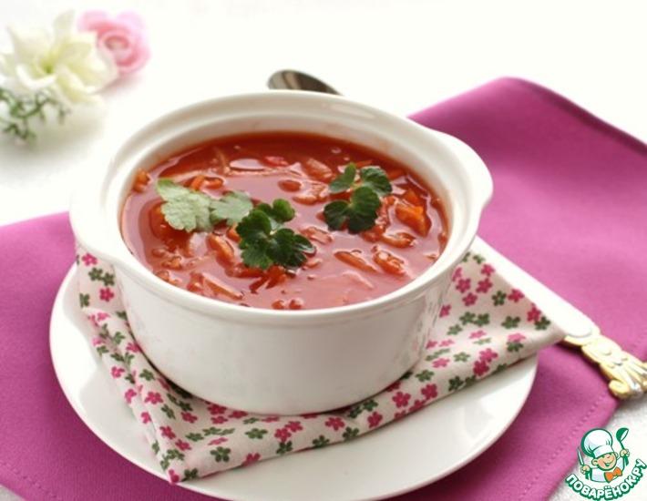 Рецепт: Суп Ешь и худей