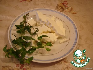 To cut the cheese.  Cheese, I think that it is possible to use and solid.
